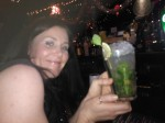 Laura with our favourite drink MOJITOS!!